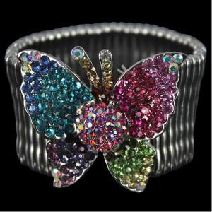 Rainbow Butterfly Stretchy Bracelet