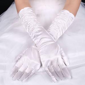 Satin Gloves 45cm