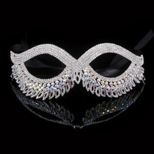 Lady Virgo Crystal Mask