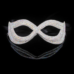Lady Aries AB Stone Crystal Mask