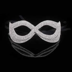 Lady Aries Crystal Mask